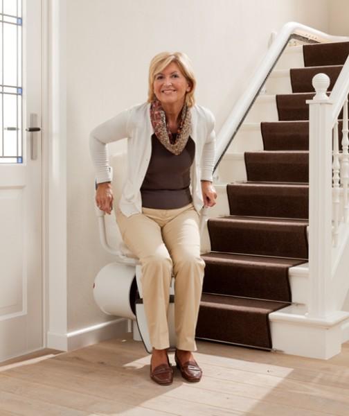 Monte-escalier courbe, notre gamme Signor