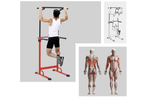 les exercices pullup fitness