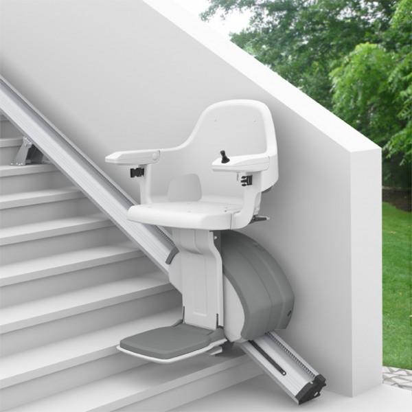 Le monte-escalier Extérieur Levant