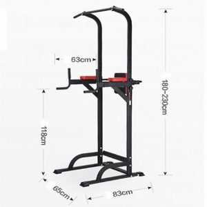 installer la barre de traction PullUp Fitness